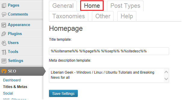 WordPress-плагин SEO