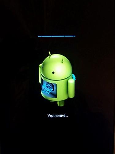 Android сброс заводских настроек