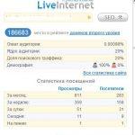 Пропало расширение liveinternet